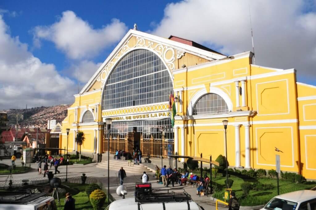Terminal de La Paz, Bolivia