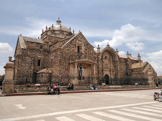 Ciudad de Lampa en la región de Puno.