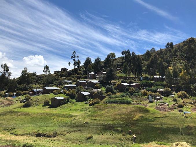 Luquina, la península por su gran paisaje natural.