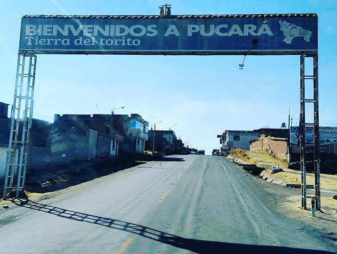 Pucara, la ciudad de los Toritos.